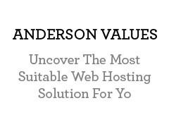 Anderson Values